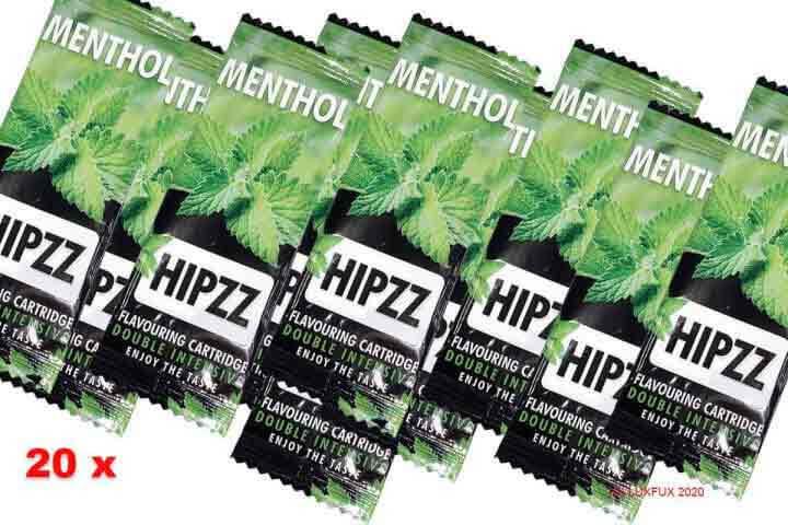 20 HIPZZ Menthol