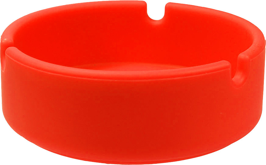 Smoking Silikon Aschenbecher in Rot