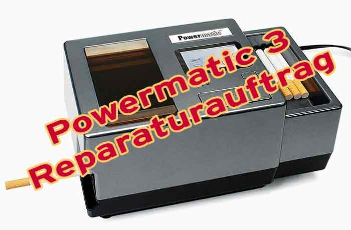 Reparatur Powermatic 3