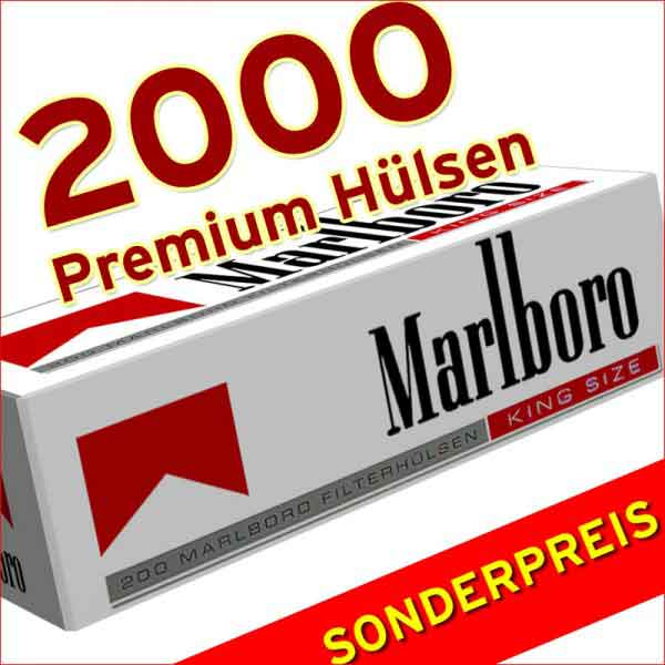 2000 Marlboro Red Pemium Huelsen