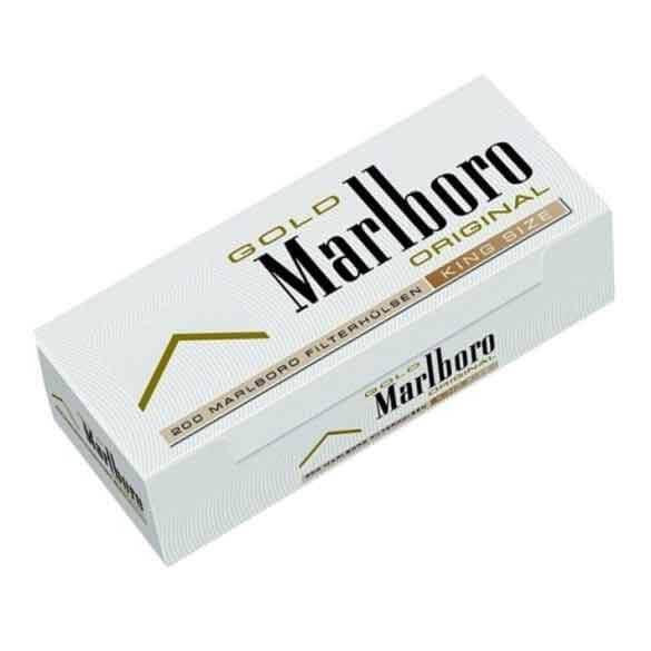 MARLBORO Gold Hülsen