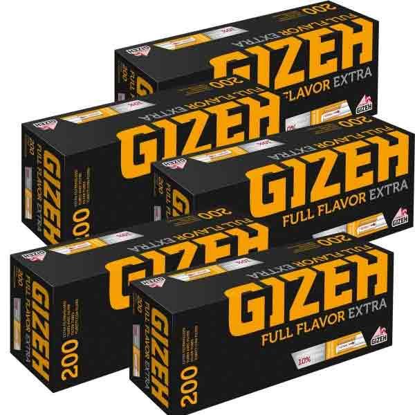 1000 Gizeh Full Flavor Extra Hülsen