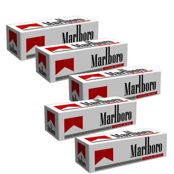 1000 Marlboro Red King Size Hülsen