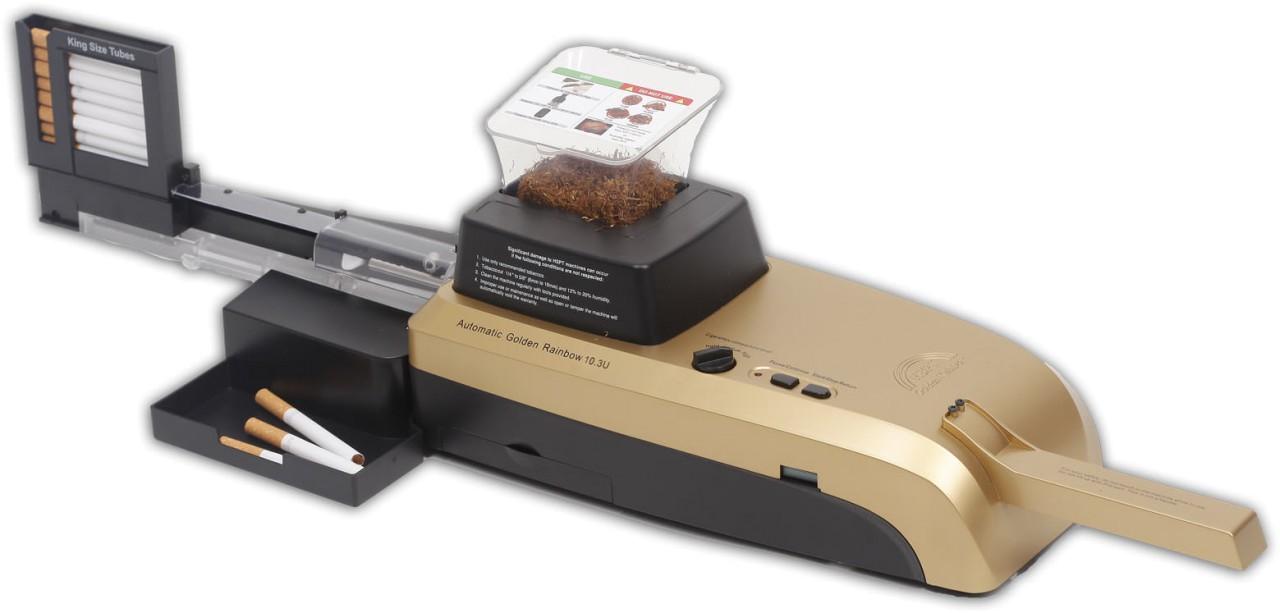 HSPT Golden Rainbow LLC HSPT Golden Rainbow vollautomatische Stopfmaschine 10+ S2
