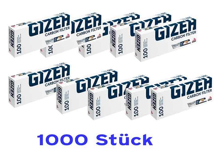1000 Gizeh Carbon Hülsen