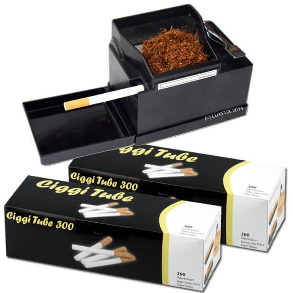 Powermatic 2 + 600 Ciggi Premium Hülsen