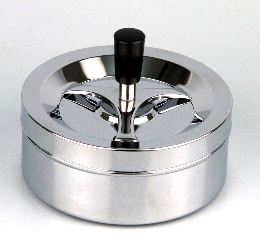Ciggi Riesiger moderner Drehaschenbecher 14 cm