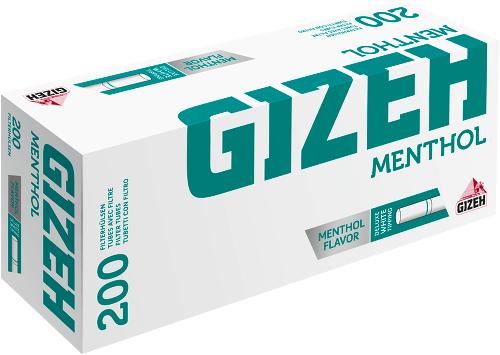 Gizeh Menthol Filterhülsen 200 Stück